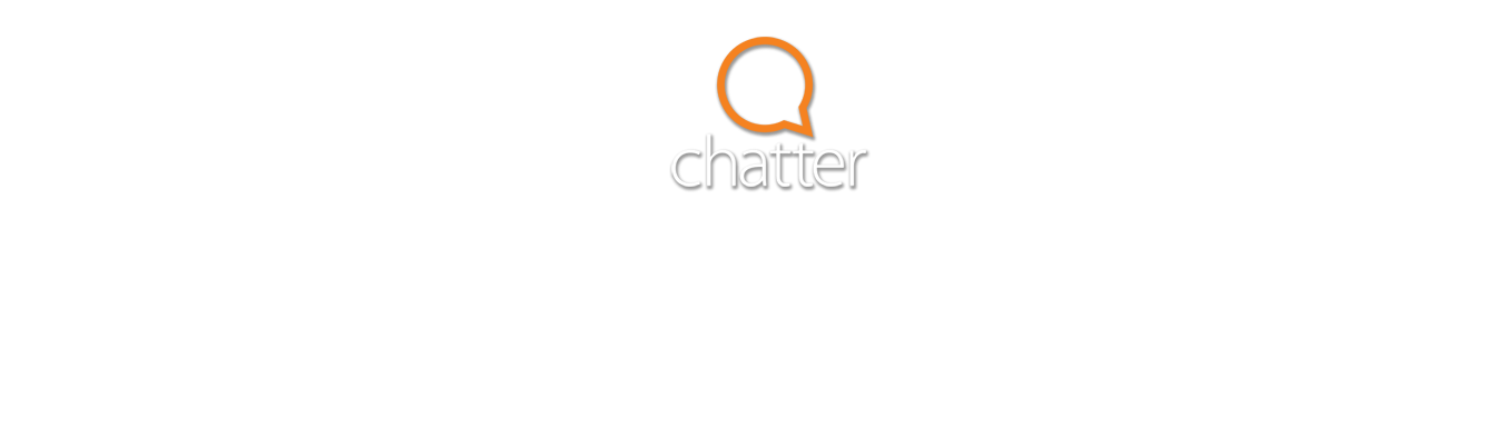 Chatter Logo and Tagline